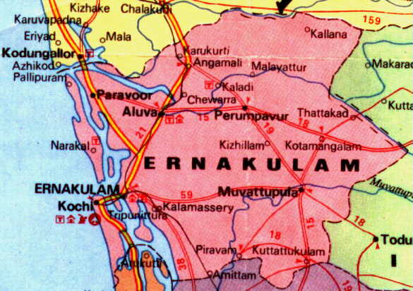 'The Commercial Capital of Kerala'
